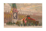 Lenin's Mausoleum on the Red Square, 1924 Giclee Print