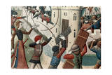 Joan of Arc at the Siege of Orleans Giclee Print
