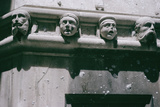 Gargoyles on the Cathedral, Built 1443 Photographic Print