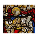 Window Nw Depicting the Charity of St Martin: He Divides His Cloak Giclee Print
