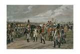 Napoleon Decorating the Russian Grenadier at Tilsitt Giclee Print