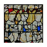 Window S3 Depicting the Angelic Hierarchy: Thrones Giclee Print