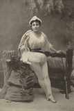 Miss Ada Blanche, as Robinson Crusoe Photographic Print