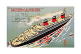 Poster Advertising the Cruise Ship 'Normandie', C.1932 Giclee Print