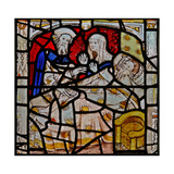 Window N4 Depicting the Works of Mercy: Visiting the Sick Giclee Print