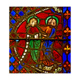 Window W6 Depicting the Visitation Giclee Print
