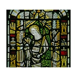 Window N2 Depicting St John Giclee Print