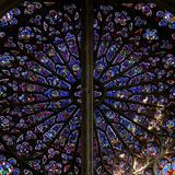 Window W219, Depicting Prophets, Ancestors of Christ and Elders of the Apocalypse Photographic Print