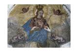 Madonna and Child with Angel, Colle Saint Lucia, Veneto, Italy Giclee Print