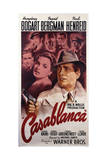 Warner Brothers Poster for the Film 'Casablanca', 1942 Giclee Print