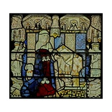 Window W5 Depicting a Donor - Lady Giclee Print