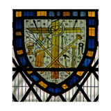 Window Ww Depicting a Shield with the Instruments of the Passion Giclee Print