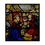 Window W36 Depicting the Nativity Giclee Print