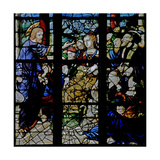 Window W7 Depicting Christ Preaching Giclee Print