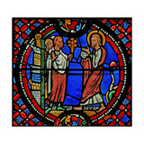 Window W9 Depicting St Andrew Is Welcomed at Nicea Giclee Print