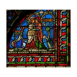 Window W0 Depicting the Visitation Giclee Print