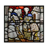Window N4 Depicting the Works of Mercy; Feeding the Hungry Giclee Print
