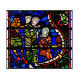 Window C32 Depicting a Scene from the Last Judgement: the Mouth of Hell Giclee Print