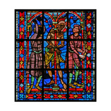 Window W200 Depicting the Flagellation Giclee Print