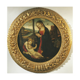 Madonna and Child with St. John Giclee Print