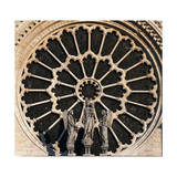 Rose Window, Notre-Dame Cathedral Giclee Print