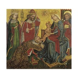 Adoration of the Magi, 15th Century Giclee Print