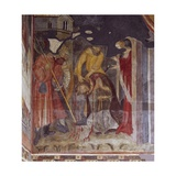 Beheading, Detail from Life of John the Baptist, Cycle of Frescoes, 1405-1435 Giclee Print