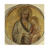 Madonna and Child, 1370-1384 Giclee Print