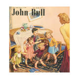 Front Cover of 'John Bull', October 1949 Giclee Print