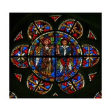 Window W209 Depicting Two Angels Giclee Print