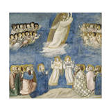 Ascension of Christ, Detail from Life and Passion of Christ, 1303-1305 Giclee Print