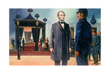 Abraham Lincoln's Prophetic Vision of His Own Death Giclee Print