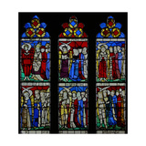 Window S5 Depicting the Angelic Hierarchy Giclee Print