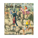 Front Cover of 'John Bull', August 1949 Giclee Print