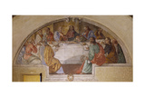 Last Supper, Franciscan Sanctuary of Poggio Bustone, Lazio, Italy Giclee Print