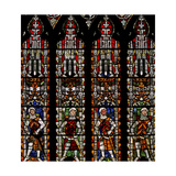Window S4 Depicting De Clare Knights and William Lord De La Zouche Giclee Print