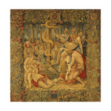 Moses and the Bronze Snake Giclee Print