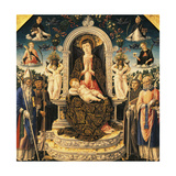 Madonna with Child and Saints, 1469 Giclee Print