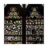 Window C7 Depicting the Funeral of the Virgin Mary Giclee Print
