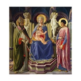 Enthroned Madonna Giclee Print