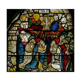 Window W25 Depicting the Trinity and Pentecost Giclee Print