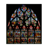 Window W6 Depicting Scenes from the Life of St Mary Magdalene Giclee Print
