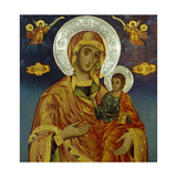 Madonna and Child, Interior of the Church of St Elijah, Bozenci, Near Plovdiv, Bulgaria Giclee Print