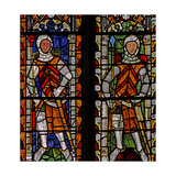 Window S4 Depicting William Lord De La Zouche and Gilbert I De Clare Giclee Print