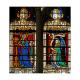 Window W134 Depicting the Annunciation Giclee Print