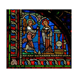 Window W0 Depicting the Annunciation Giclee Print