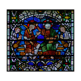 Window W56 Depicting the Coronation of the Virgin Giclee Print