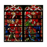Window W236 Depicting Daniel Is Urged to Intervene Giclee Print