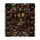 Window W60 Depicting a Scene from the Life of St Paul Giclee Print