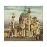 Austria, Vienna, Karlskirche Giclee Print